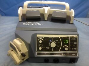 Boston Scientific Endostat Iii Electrosurgical Unit With Footswitch
