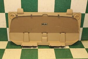 07 13 Avalanche Tan Lid Gate Midgate Trunk Hatch Tailgate Trim Penel Factory Oem