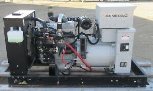 30 Kw Generac Mitsubishi Natural Gas Or Propane Generator Genset Load Bank
