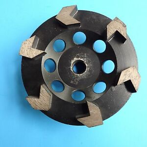 5 Arrow Cup Wheel For Coating Removal Grinding Concrete Resurf 5 8 11threaded