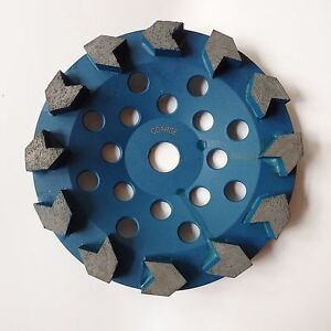 7 Arrow Cup Wheel For Coating Removal Grinding Concrete Preparations 7 8 5 8