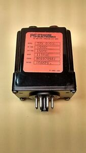 Syracuse Electronics Tfr 020311 Timer Relay 15sec On off