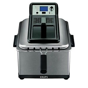 Best Deep Fryer Countertop Kitchen Commercial Electric Stainless Triple Basket