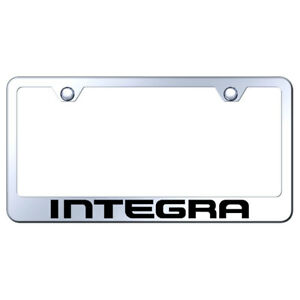 License Plate Frame With Acura Integra On Mirrored officially Licensed