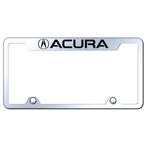 Truck License Plate Frame With Acura On Mirrored officially Licensed