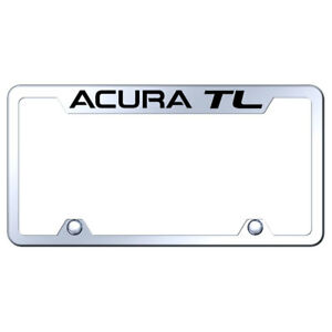 Truck License Plate Frame With Acura Tl On Mirrored officially Licensed