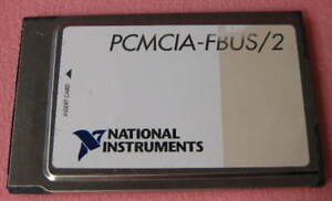 Ni Pcmcia fbus 2 National Instruments Interface Card 183628d 02 1 Each
