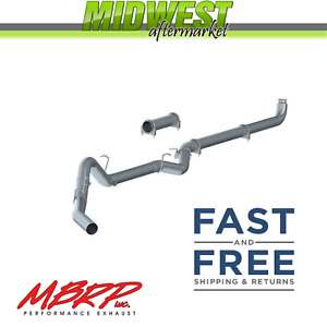 Mbrp Downpipe Back Exhaust System Fits 01 07 Chevy Gmc Duramax W O Muffler