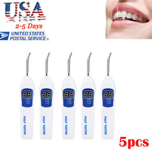 5x Dental Pulp Tester Testing Teeth Nerve Vitality Endodontic Tool Usa Warranty