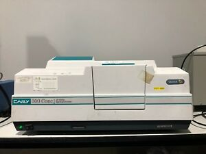Varian Cary 300 Conc Uv visible Spectrophotometer