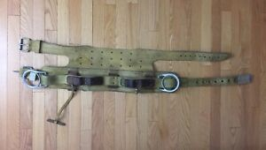Miller Fall Protection 88n Leather Belt