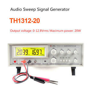 Audio Sweep Signal Generator Speaker Tester Frequency Meter 20hz 20khz 12 8vrms