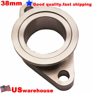 Ss304 Stainless Steel Tial 38mm 2 Bolt To Mvs Vband Wastegate Adapter Flange