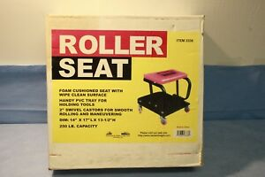 Mechanic Roller Seat Creeper W Tool Tray 3338