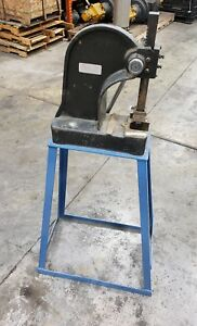 2 Ton Dayton Arbor Press 4z329a With Stand 6735sr