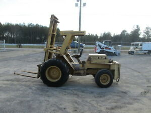1988 Mastercraft Mc 543 Rough Terrain Forklift