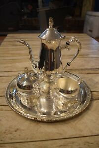 Silver Plate Tea Service International Silver Company