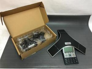 Cisco Voip Conference Station Phone Cp 7937g 2201 40100 001 W 2 New Ext Mics