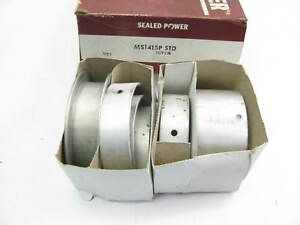 Sealed Power Ms1415p Engine Main Bearings Standard 1977 1981 Pontiac 265 301