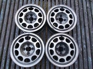 1985 Ford Mustang Gt 5 0 Fox Body Set Four Used Oem 15x7 Aluminum Alloy Wheels