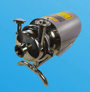 3t Centrifugal Pump Sanitary 304 Stainless Steel Beverage Water Transfer Supply