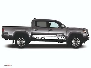 Toyota Tacoma 2x Side Body Decal Vinyl Graphics Racing Sticker Hight Quality