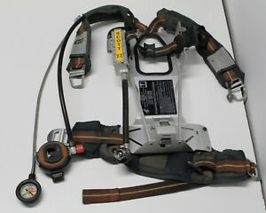 Scott 2 2 Scba Pressure Demand Regulator Pack Harness Firefighter Rescue Escape