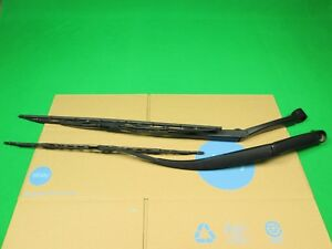 14 16 Kia Soul Front Windshield Wiper Arm W Blade Left Right Set Pair Used