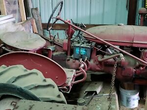 Farmall Tractor With Woods 59 Inch Belly Mower