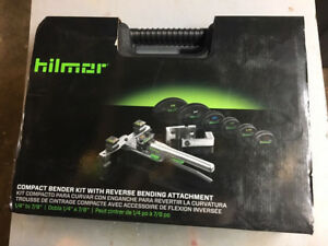 Hilmor 1926598 Compact Bender Kit With Reverse Bending Attachment New