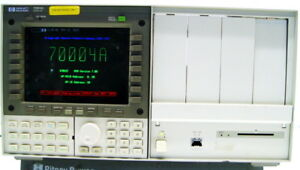 Hp Agilent 70004a Color System Display