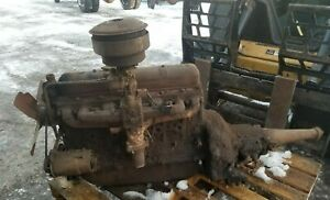 1957 57 Gmc 269 6 Cylinder Engine Motor Inline Transmission Shipping Included
