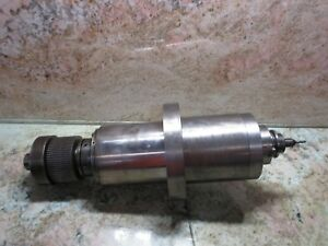 Tongil Saeilo Mach 3a Cnc Mill Mitsubishi Control Cat40 Spindle Cartridge
