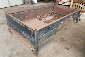 1940 S 1950 S Ford Chevy Dodge International Pickup Truck Long Box Bed