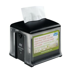 New Xpressnap Tork Case Of 4 Napkin Dispensers Black 32 Xrt Ad A Glance Classic