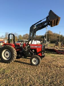 Massey Ferguson 271 With Front Loader Good Condition