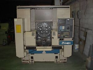 Miyano Lm 11 4 spindle Turning Center New 1996 4 6 Chucks Dual Turrets
