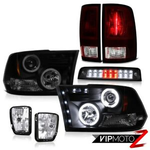 13 18 Ram 1500 Sport Roof Cab Lamp Chrome Foglamps Tail Lamps Headlamps Newest