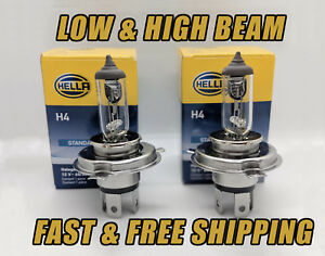 Front Headlight Bulb For Toyota Corolla 1998 2000 High Low Beam Qty 2 Stock Fit