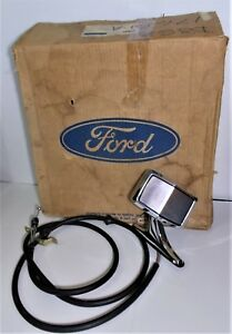 Nos 1973 74 75 76 77 Ford Thunderbird Lincoln Rh Right Hand Remote Mirror