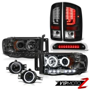02 05 Dodge Ram 1500 2500 St Tail Lamps High Stop Lamp Headlamps Fog Projector