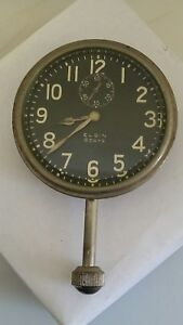Vintage 1920s For Model A T Ford Automobile Dash Clock For Restoration 8 Day