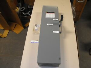 Square D Dt323 100 Amp Fused Manual Transfer Switch