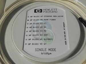 New Hp 81101 Bc Bare Fiber Cable For 81101a Pulse Generator Single Mode 9 125pm