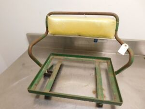 John Deere Late Styled B Tractor Seat Frame Ab3621r 13287