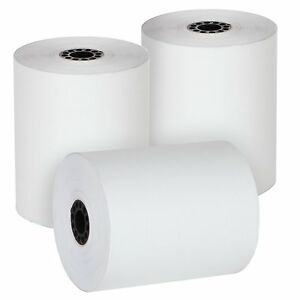 Thermal Pos Paper Cash Register Rolls 3 1 8 X 230 50 Rolls Bpa Free