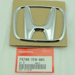 New Oem 2012 2014 Honda Civic Fit Ev Front Emblem 75700 Tf0 901
