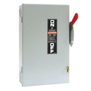 Ge 60 Amp 240 volt Non fuse Indoor Safety Switch