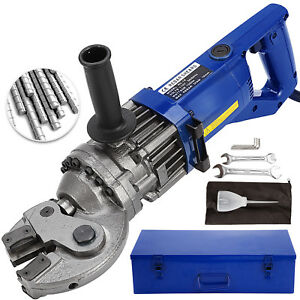 Rc 18mm Portable Electric Hydraulic Rebar Cutter Tool Kit 4 5 Sec Bender 1250w