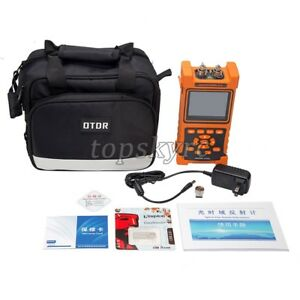 Hand held Optical Time Domain Reflectometer Nk2000 Otdr 3 5 Color Lcd Display
